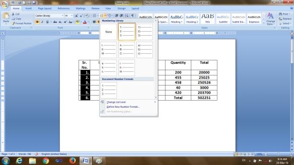 Word table formulas computerssolutions ms word table works like excel but it does not show the column and row number like excel but internally it works like excel ccuart Choice Image